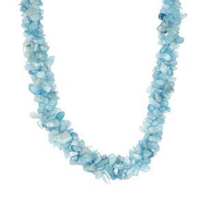 Aquamarine Necklace in Sterling Silver 426.80cts