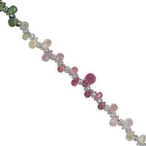 Multi-Colour Sapphire Gemstone Strand