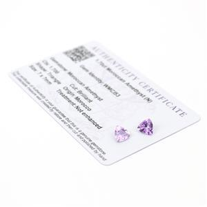 Moroccan Amethyst Gemstone Pieces  2.03cts