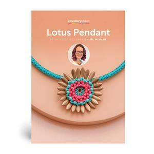 Lotus Pendant by JM Guest Designer Chloe Menage Booklet