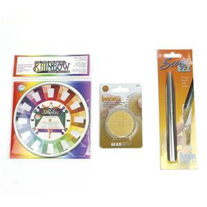Beading Must Haves! Inc; Bead Scoop, Colour Sellector & Bees Wax.