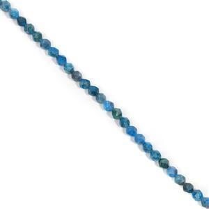 160cts Neon Apatite Faceted Fancy Approx 7x8mm, 38cm