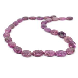 140cts Lepidolite Puffy Ovals Approx 10x14mm, 38cm