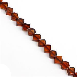 Baltic Cognac Amber Irregular Beads, Approx. 7-14mm (38cm Strand)