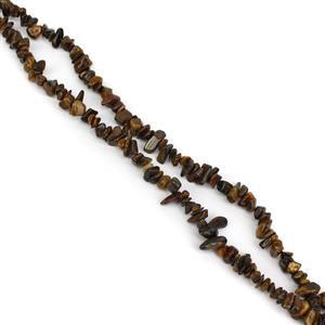 300cts Tiger Eye Small Nuggets Approx 6x2-11x6mm, 84cm