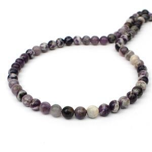 100cts Tiffany Stone Plain Rounds Approx 6mm, 38cm Strand