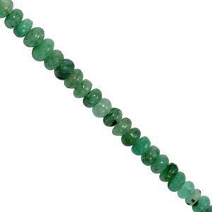 Zambian Emerald Gemstone Strand