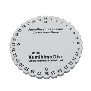 Kumihimo Braiding Disk For Woven Bracelet, size  15cm