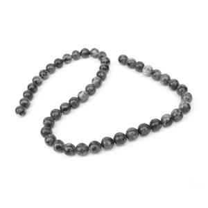 190cts Lavikite Plain Rounds Approx 8mm, 38cm Strand