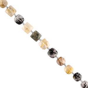 Multi Colour Rutile Quartz Gemstone Strands