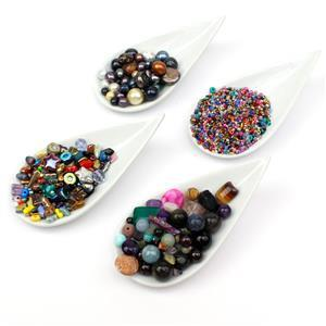 Approx 760g Ultimate Scoop! Glass Beads, Beads, Gemstone, Pearl and Shell