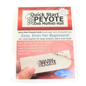 Quick Start Peyote 15/0 Delica and Seed Bead (3card/pack)