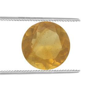 0.20cts Burmese Amber 6x6mm Round  (N)