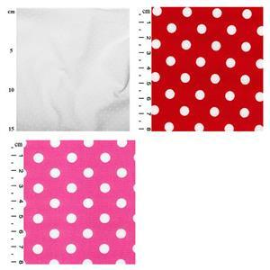 Spots Sew Different Colourblock Dress Fabric Bundle (3.5m)