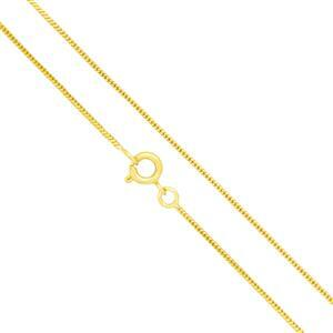 "Gold Plated Base Metal Finished Snake Chain, 18""  (5pk)"