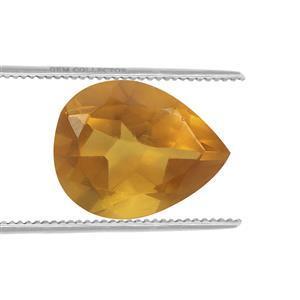 0.4cts Burmese Amber 9x7mm Pear  (N)