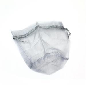 Silver Colour Organza Bag Approx 9, 1pc