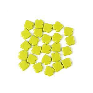 Jewellery Maker Czech Dart Beads by Mark Smith - Green Opaque (25pcs)