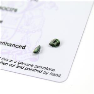 0.55cts Nigerian Sapphire 5x4mm Fancy Pack of 2 (N)