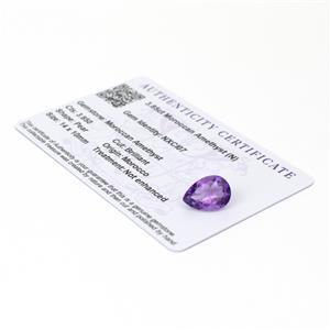 Moroccan Amethyst Gemstone Pieces  4.49cts
