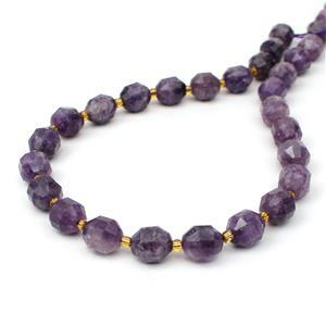 160cts Lepidolite Satellite Beads Approx 10x9mm, 38cm