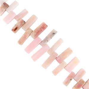 Pink Opal Gemstone Strands