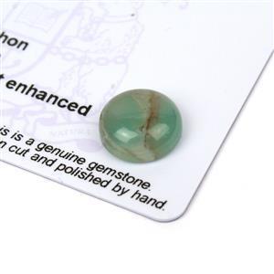 3.6cts Aquaprase 12x12mm Round  (N)