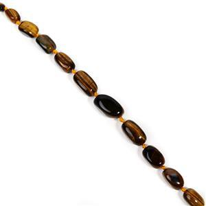 Yellow Tiger's Eye Graduated Large Nuggets