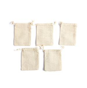 Linen Pouches Approx 9x11.5cm (5pk)