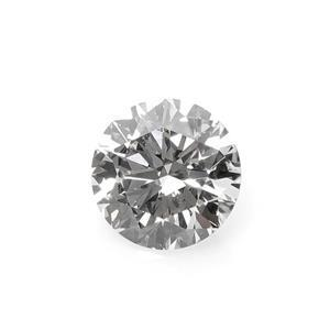3.8mm, 0.20cts, VS1-VS2 - Brilliant Cut Round, Lab Grown Diamond, Color G