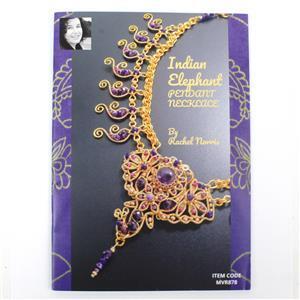 Indian Elephant Pendant Necklace Booklet by Rachel Norris