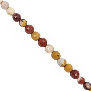 70cts Mookite Faceted Round Approx 5 to 6mm, 30cm Strand