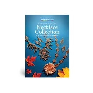 Sunflower & Maple Leaf Necklace Collection by Rachel Norris