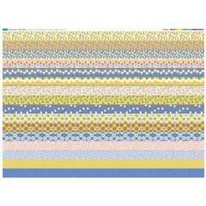 Hello Poppet Fabric Strips: 140cm x 107cm
