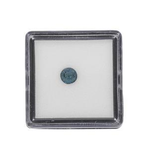 0.45cts Teal Kyanite Fancy Round Approx 5mm Loose Gemstone (1pc)