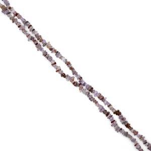 "726cts Auralite 23 Chips Approx 4x7 to 5x8mm, 100"" Endless Chips Strands"