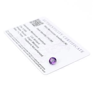 Moroccan Amethyst Gemstone Pieces  1.21cts