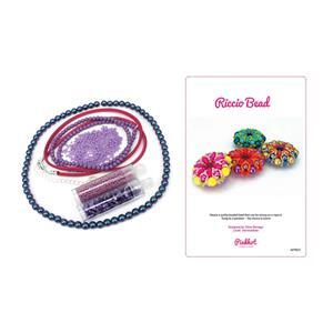 Lavender Riccio Kits with Booklet by Chloe Menage