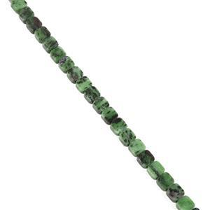 300cts Ruby Zoisite Fancy Square Approx 10mm, 38cm