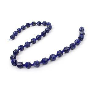 LIMITED EDITION - 220cts Lapis Lazuli Faceted Drum Approx 10x9mm