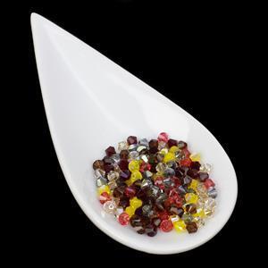 Limited Edition Swarovski Crystal Bicone, 5328 - Warm Tones Mix, 4mm (144pk)