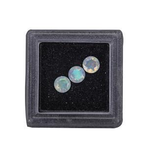 Ethiopian Opal Round (Oct Birthstone)