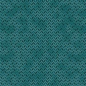 Gradiente in Teal Blue Fabric 0.5m