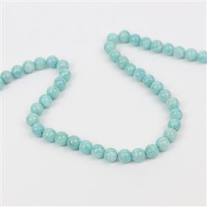 80cts Amazonite Plain Rounds Approx 6mm, 38cm