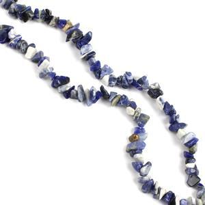 310cts Sodalite Fancy Small Nuggets Approx  8x5-13x5mm 80cm