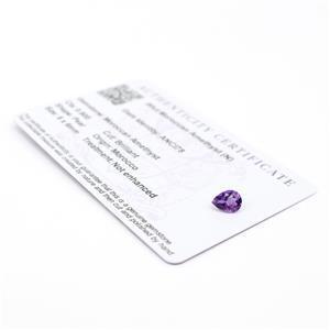 Moroccan Amethyst Gemstone Pieces  1.02cts
