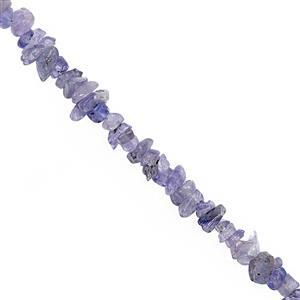 350cts Tanzanite Bead Nugget Approx 3x2.5 to 9x4mm, 100inch Strand