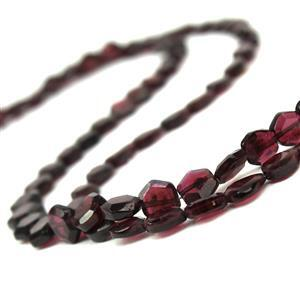 Garnet! Inc; Faceted Hexagons & Faceted Pear.