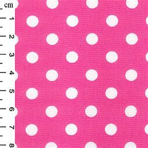 Candy Polka Dots on Cotton Poplin Fabric 0.5m