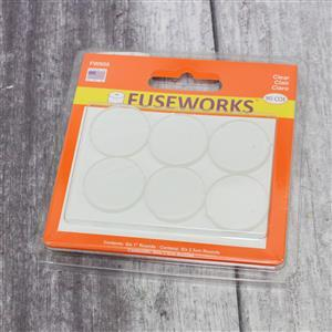 Fuseworks Clear Fusible Rounds 6 x 1""